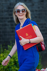 © Licensed to London News Pictures. 17/07/2018. London, UK. Chief Secretary to the Treasury Elizabeth Truss on Downing Street for the Cabinet meeting. Photo credit: Rob Pinney/LNP