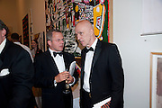 KARSTEN SCHUBERT; JAMES FENTON, Annual Dinner. Royal Academy of Arts. Piccadilly. London. 8 June 2010. -DO NOT ARCHIVE-© Copyright Photograph by Dafydd Jones. 248 Clapham Rd. London SW9 0PZ. Tel 0207 820 0771. www.dafjones.com.
