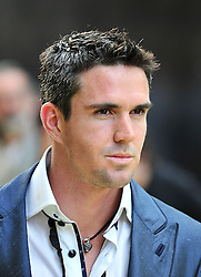© licensed to London News Pictures. London, UK  09/05/11 Kevin Pietersen England cricketer attends the London premiere of Fire in Babylon in Leicester Square . Please see special instructions for usage rates. Photo credit should read AlanRoxborough/LNP