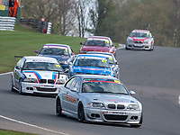 #85 Nigel RALPHSON BMW E46  during K-Tec Racing Clio 182 Championship as part of the 750 Motor Club at Oulton Park, Little Budworth, Cheshire, United Kingdom. April 14 2018. World Copyright Peter Taylor/PSP.