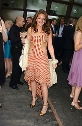 MISS NATASHA CORRETT daughter of interior designer Kelly Hoppen at the annual Serpentine Gallery Summer Party co-hosted by Jimmy Choo shoes held at the Serpentine Gallery, Kensington Gardens, London on 30th June 2005.<br />
