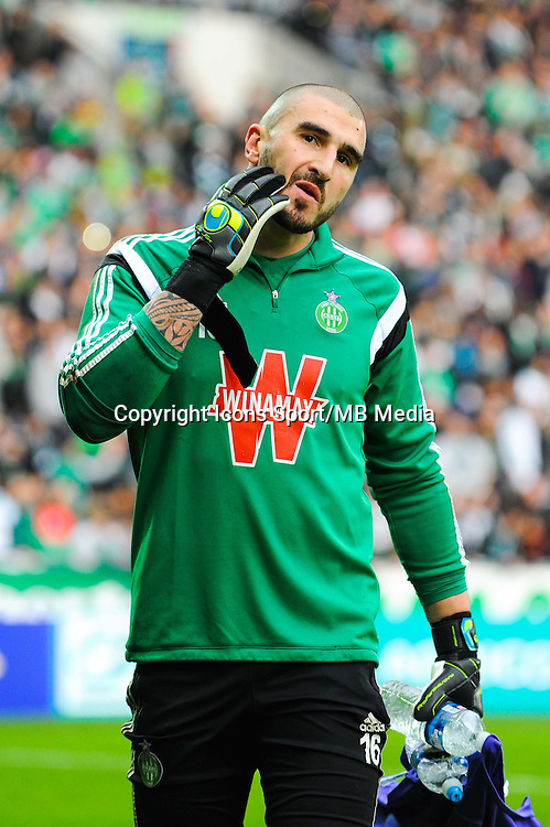 Stephane RUFFIER  - 04.01.2015 - Saint Etienne / Nancy - Coupe de France<br /> Photo : Jean Paul Thomas / Icon Sport