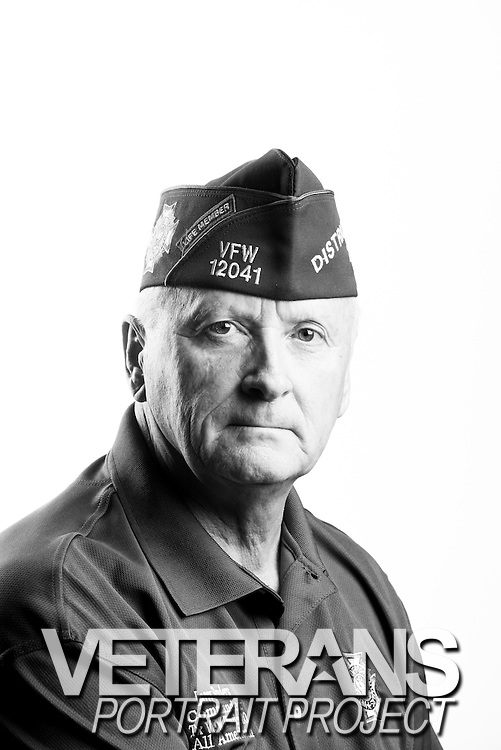 Larry Sanders<br /> Air Force<br /> E-5<br /> Military Police<br /> 1967 - 1970<br /> Vietnam<br /> <br /> Veterans Portrait Project<br /> St. Louis, MO