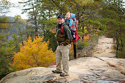 Gemma Marie Palmer at 14 months with the family on a trip to the Gorge, Sunday, Oct. 28, 2018  at Sky Bridge in the Red River Gorge.