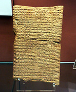 Omens from a sheep's stomach.  This kind of omen was the most commonly used in Mesopotamia.  Probably from Sippar.