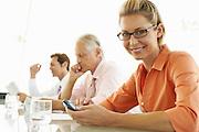 Businesswoman in Meeting