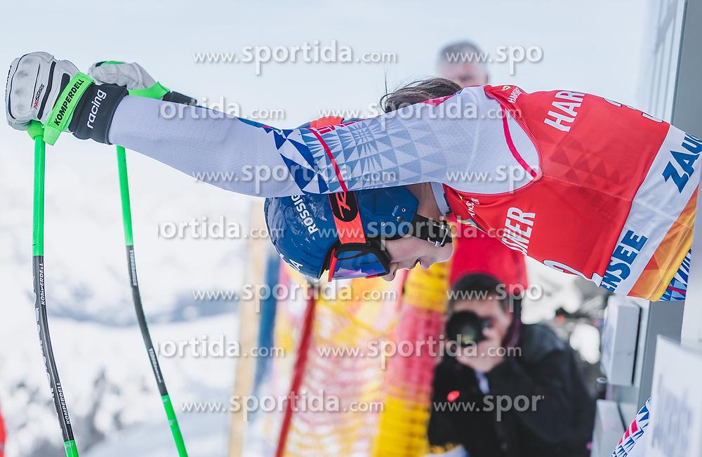 09.01.2020, Keelberloch Rennstrecke, Altenmark, AUT, FIS Weltcup Ski Alpin, Abfahrt, Damen, 1. Training, im Bild Wendy Holdener (SUI) // Wendy Holdener of Switzerland during her 1st training run for the women's Downhill of FIS ski alpine world cup at the Keelberloch Rennstrecke in Altenmark, Austria on 2020/01/09. EXPA Pictures © 2020, PhotoCredit: EXPA/ Johann Groder