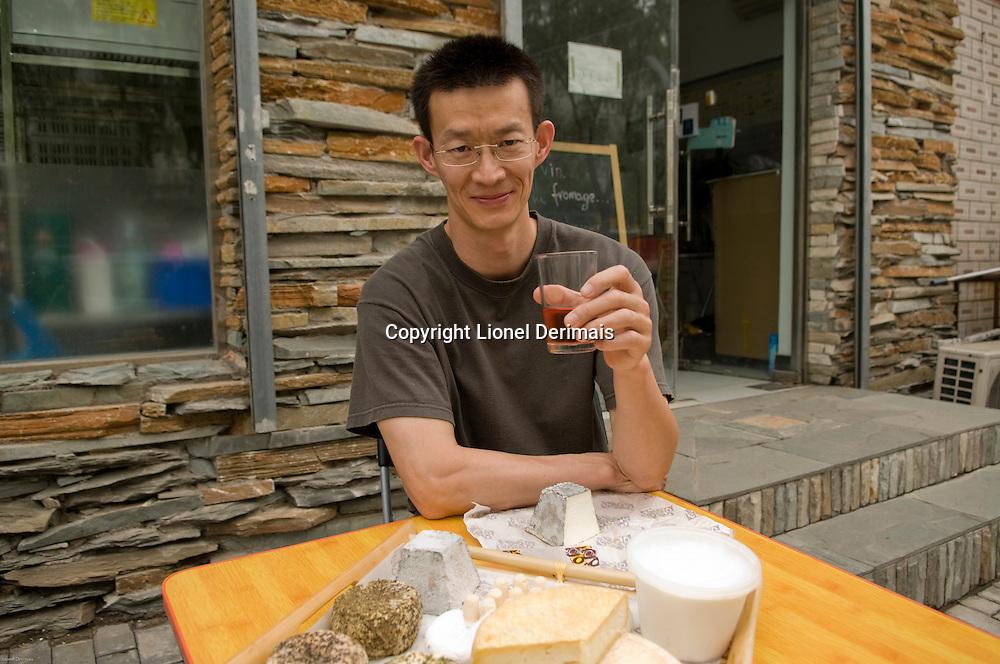 Liu Yang, Beijing cheesemaker!