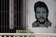 Image of Ernesto Che Guevara in Guantanamo, Cuba.