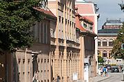 Stadtmuseum in der Karl-Liebknecht-Straße, Weimar, Thüringen, Deutschland   town museum in Karl-Liebknecht-Straße, Weimar, Thuringia, Germany