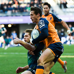 Johan GOOSEN of Montpellier  during the Heineken Champions Cup, Pool five match between Montpellier and Connacht at Altrad Stadium on January 19, 2020 in Montpellier, France. (Photo by Alexandre Dimou/Icon Sport) - Altrad Stadium - Montpellier (France)