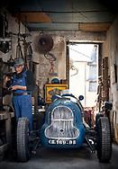 25/05/18 - SARLAT - DORDOGNE - FRANCE - Essais GJ, monoplace sur base de chassis modifie et de moteur de traction. Prototype de course realise par Joseph GALI a la fin des annees 30. Immatriculation 1948 - Photo Jerome CHABANNE