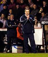 Photo. Jed Wee, Digitalsport<br /> Sheffield United v Arsenal, FA Cup 5th Round Replay, 01/03/2005.<br /> Sheffield United manager Neil Warnock will be praying his side continues their first half form.