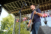 Magnolia Summer performing at LouFest in St. Louis on August 29, 2010.