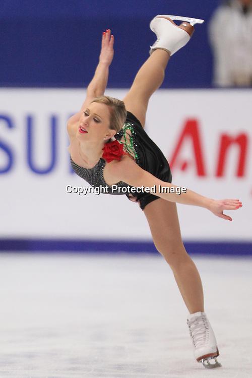 Joannie Rochette (CAN), OCTOBER 30, 2009 - Figure Skating : ISU Grand Prix of Figure Skating 2009/2010, 2009 Skate China Women's Short Program at Capital Indoor Stadium, Beijing, China. (Photo by Akihiro Sugimoto/AFLO SPORT) [1080]