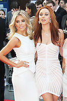 Mollie King; Una Healy, The Hangover III European Film Premiere, Empire Cinema Leicester Square, London UK, 22 May 2013, (Photo by Richard Goldschmidt)