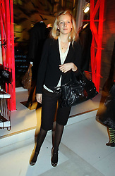 SAVANNAH MILLER at a party to celebrate the launch of DKNY Kids and Halloween in aid of CLIC Sargent and RX Art held at DKNY, 27 Old Bond Street, London on 31st October 2006.<br /><br />NON EXCLUSIVE - WORLD RIGHTS