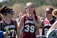 Lakes Region Lacrosse U11 girls versus Concord May 1, 2011.