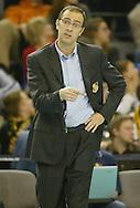 DANIEL CASTELLANI.BOT SKRA BELCHATOW (ZOLTO-CZARNE) - KS JASTRZEBSKI WEGIEL JASTRZEBIE (ZIELONO-CZARNE).SIATKOWKA, PLS, SERIA A.23.12.2006. BELCHATOW..FOT. DARIUSZ HERMIERSZ / SPORT-FOTO / MEDIASPORT