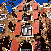 Windows detail..Amsterdam, Holland.