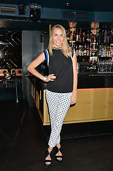 BECKY TONG at a summer party hosted by Jo Wood & Yasmin Mills at Boujis, 43 Thurloe Street, London on 9th July 2014.
