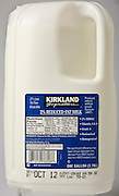 Kirkland Milk, by Costco Wholesale.  Photographed by Brian Smale in Seattle, for BusinessWeek Magazine.