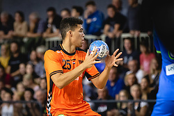 25-10-2019 SLO: Slovenia - Netherlands, Ormoz<br /> Epharim Jerry of Nederland during friendly handball match between Slovenia and Nederland, on October 25, 2019 in Sportna dvorana Hardek, Ormoz, Slovenia.