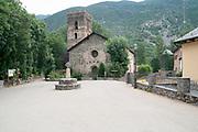 Santa Maria de Ribera Church, Vall de Cardós Catalonia Spain
