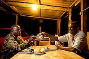 Belo Horizonte_MG, Brasil. ..Eletrificacao na comunidade Quilombola de Mangueiras, projeto Luz para Todos...The rural electrification in Mangueiras quilombo community, in the Luz para Todos project...FOTO: LEO DRUMOND / NITRO