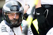 October 27-29, 2017: Mexican Grand Prix. Mercedes F1 mechanic