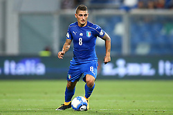 September 5, 2017 - Reggio Emilia, Italy - Marco Verratti of Italy during the FIFA World Cup 2018 qualification football match between Italy and Israel at Mapei Stadium in Reggio Emilia on September 5, 2017. (Credit Image: © Matteo Ciambelli/NurPhoto via ZUMA Press)