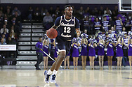HIGH POINT, NC - JANUARY 06: Charleston Southern's Ty Jones. The High Point University of Panthers hosted the Charleston Southern University Buccaneers on January 6, 2018 at Millis Athletic Convocation Center in High Point, NC in a Division I men's college basketball game. HPU won the game 80-59.