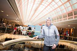 24.01.2018, Marriott, Wien, AUT, PyeongChang 2018, Einkleidung OeOC, am Mittwoch, 24. Jänner 2018, während der Olympia- Einkleidung im Marriott-Hotel in Wien. Die 23. Olympischen Winterspiele finden vom 9. bis zum 25. Februar im südkoreanischen Pyeongchang statt, im Bild Daniela Iraschko-Stolz (AUT) // Daniela Iraschko-Stolz of Austria during the outfitting of the Austrian National Olympic Committee for PyeongChang 2018 at the Marriott in Wien, Austria on 2018/01/24. EXPA Pictures © 2018, PhotoCredit: EXPA/ Michael Gruber