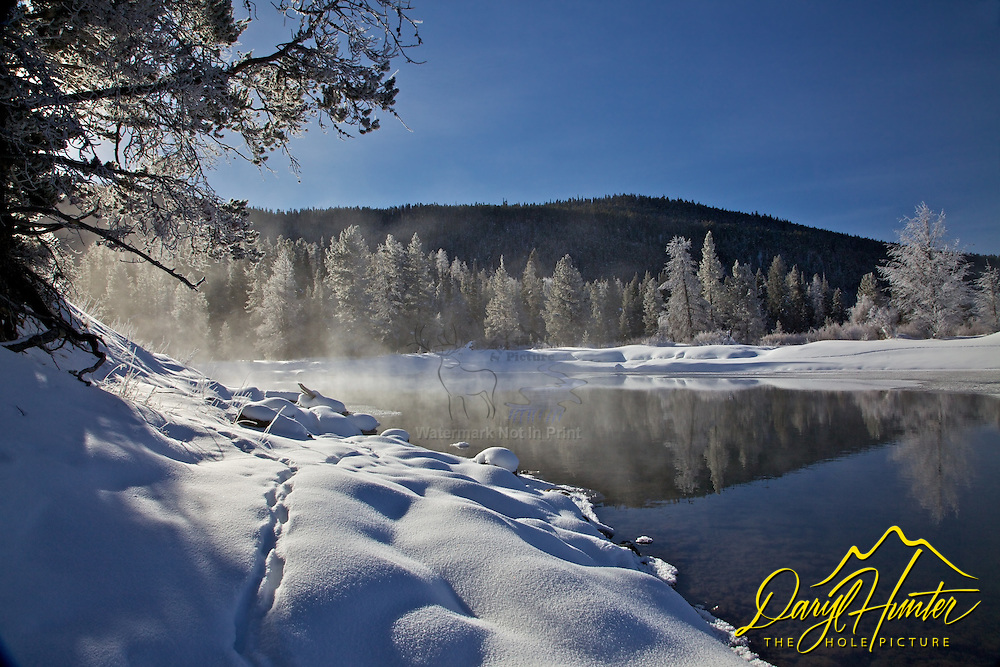 Winter, Snake River, Grand Teton National Park<br />