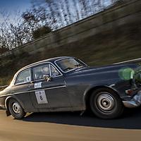 Car 6 Chris Hunt Cooke / David Kirkham - Volvo 122S