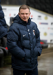 Coventry City manager Mark Robins during the Emirates FA Cup Fourth Round match at Stadium MK Milton Keynes