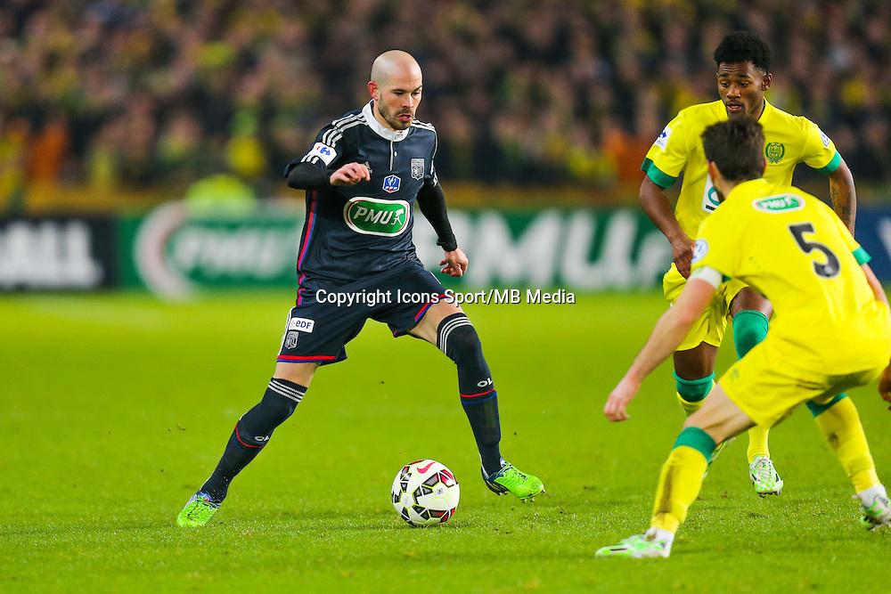Christophe JALLET  - 20.01.2015 - Nantes / Lyon  - Coupe de France 2014/2015<br /> Photo : Vincent Michel / Icon Sport