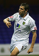 Stockport - Saturday October 31st 2009: Grant Holt of Norwich City celebrates scoring the third goal against Stockport County during the Coca Cola League One match at Edgeley Park, Stockport. (Pic by Michael SedgwickFocus Images)