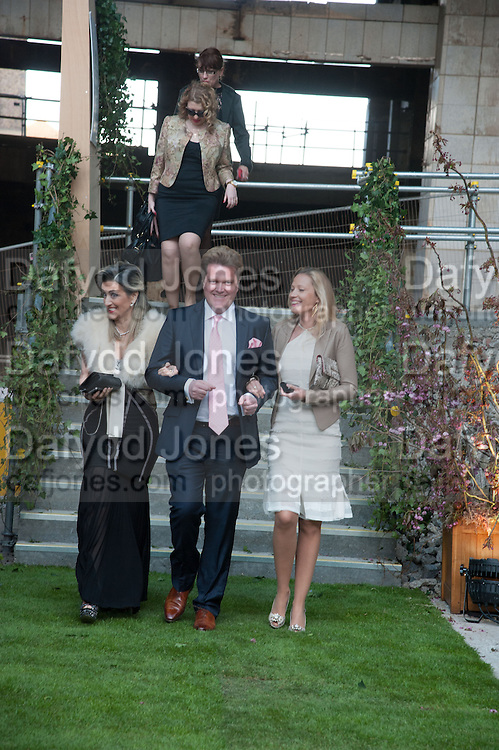 SHOSANA DADOUN; JUSTIN DRUMMOND; ELENA SEREDA, Gabrielle's Gala 2013 in aid of  Gabrielle's Angels Foundation UK , Battersea Power station. London. 2 May 2013.