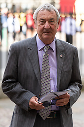 © Licensed to London News Pictures. 15/06/2018. London, UK.  Nick Mason attends the memorial service for Professor Stephen Hawkin at Westminister Abbey. Photo credit: Ray Tang/LNP