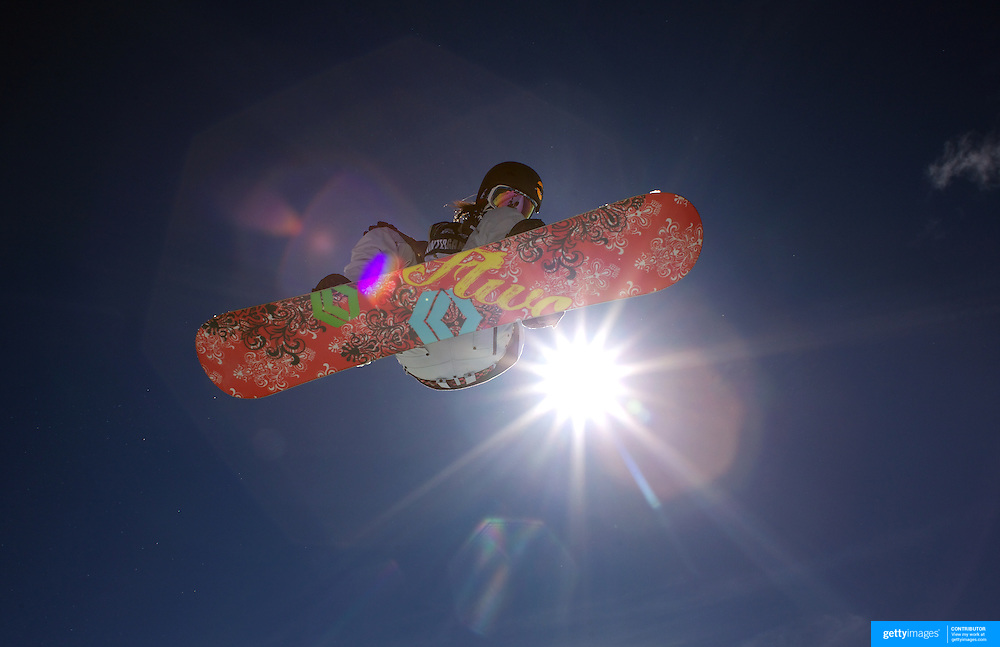 Kazuumi Fujita, Japan, in action during the Men's Half Pipe Finals in the LG Snowboard FIS World Cup, during the Winter Games at Cardrona, Wanaka, New Zealand, 28th August 2011. Photo Tim Clayton.