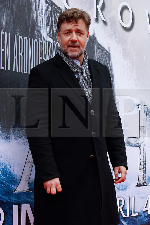 © Licensed to London News Pictures. 29/03/2014. Edinburgh, Scotland. Russell Crowe attends the Scottish Premier of his new movie Noah at the Filmhouse in Edinburgh. Photo credit : Duncan McGlynn/LNP
