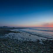 Today's  winter sunrise at Narragansett Town Beach,  .  April  27, 2013.