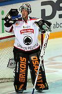 26.10.2012, Helsinki..J??kiekon SM-liiga 2012-13. HIFK - ?ss?t..Antti Raanta - ?ss?t