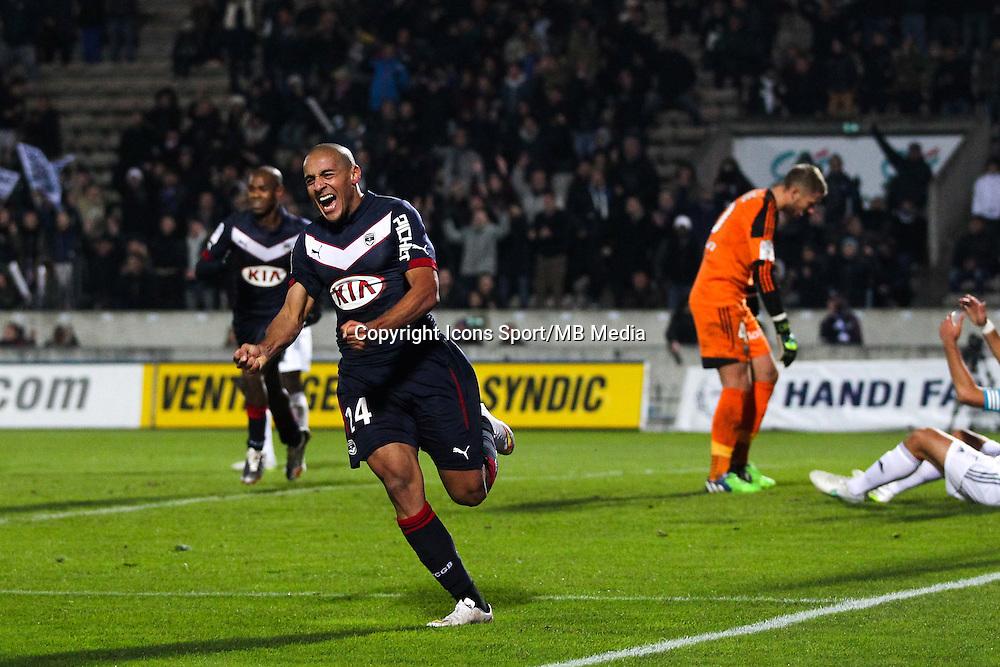 Joie Wahbi Khazri - 06.12.2014 - Bordeaux / Lorient - 17eme journee de Ligue 1 -<br />Photo : Manuel Blondeau / Icon Sport
