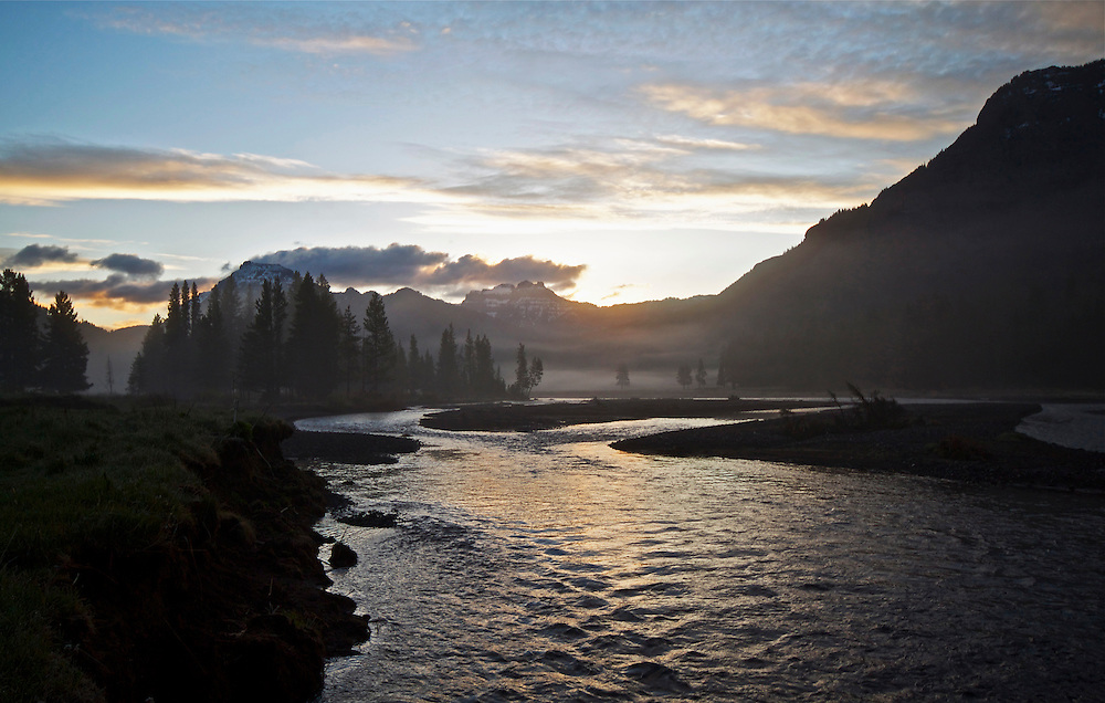 Sunrise, Soda Butte Creek