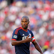 Jose Goncalves, New England Revolution, during the New York Red Bulls Vs New England Revolution, MLS Eastern Conference Final, first leg at Red Bull Arena, Harrison, New Jersey. USA. 23rd November 2014. Photo Tim Clayton