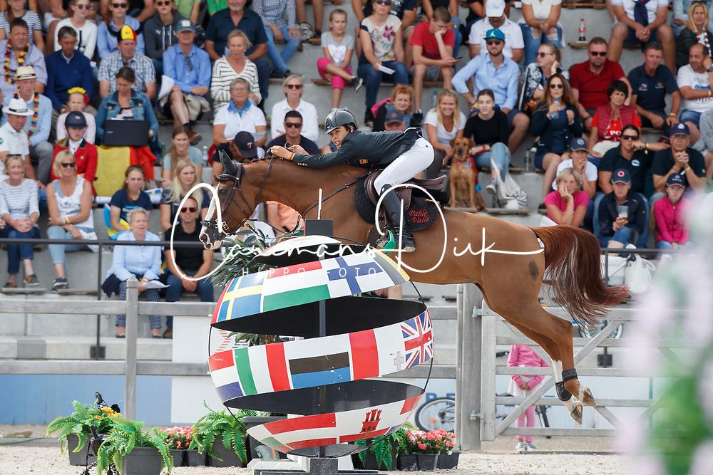 Valle Aspinedo Pablo, ESP, Utopie les Hauts<br /> Children European Championships Jumping <br /> Samorin 2017&copy; Hippo Foto - Dirk Caremans<br /> 12/08/2017