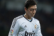 Ozil showing his sadness for the draw