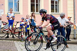 Lisa Klein (GER) leads at Lotto Thüringen Ladies Tour 2019 - Stage 4, a 114.8 km road race in Gotha, Germany on May 31, 2019. Photo by Sean Robinson/velofocus.com